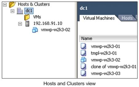 host-cluster-view
